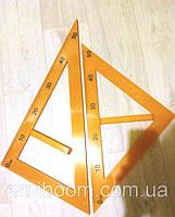 Треугольник для доски равнобедренный + равносторонний 5965 Josef Otten (набор из 2 шт)