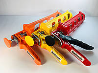 Пистолет полуоткрытый для герметика, силикона и жидких гвоздей