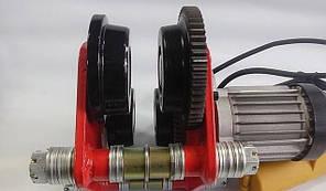 Передвижной механизм каретка для тельфера 1000 кг 220В, фото 3