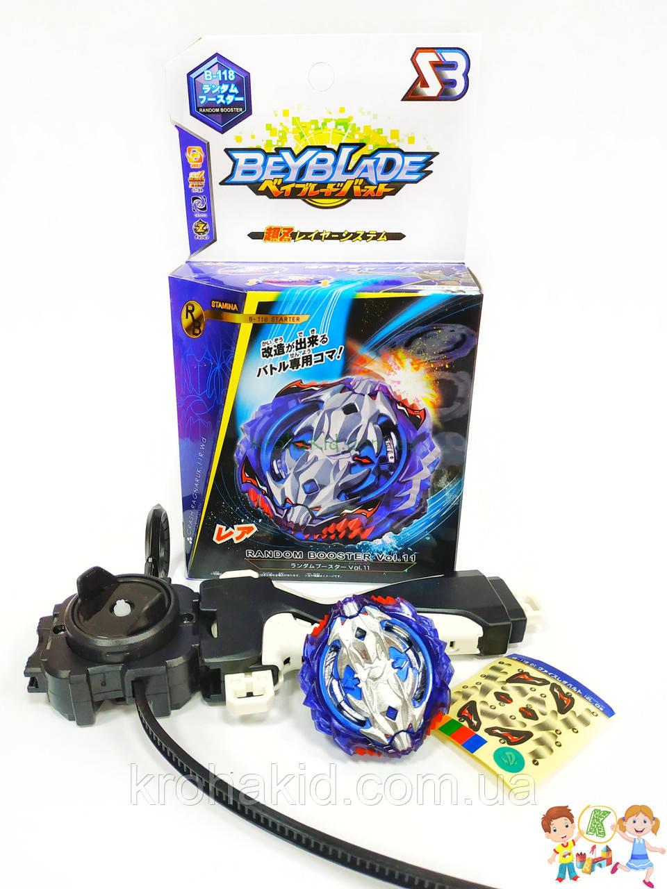 Игрушка BeyBlade Vise Leopard B-118 / Бейблэйд Вайс Леопард (синий) SB