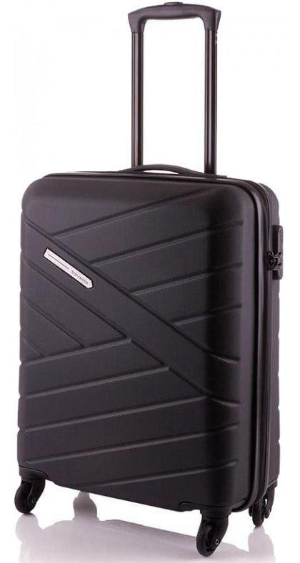 Пластиковый чемодан малый Travelite BLISS TL074847-01 38 л, черный