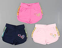 Трикотажні шорти для дівчаток S&D, [98], фото 1
