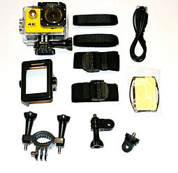 Экшн камера 4K H9/H9R wi-fi Ultra HD 1080P