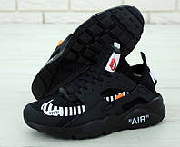 Мужские кроссовки Nike Huarache x OFF White (реплика +ААА), фото 1