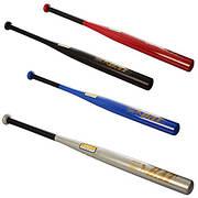 Бита бейсбольная 31 дюйм., д=5 см., металл., 4 цвета, в пак. 80см (16шт)