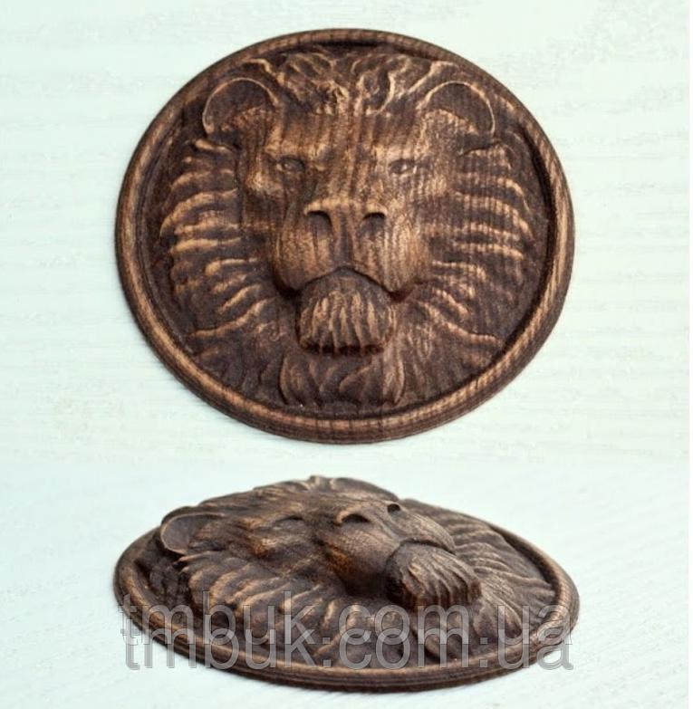 Розетка 7 - 100х100 - для мебели Лев