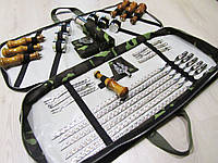 Походной набор для шашлыка в чехле с ручками, фото 1