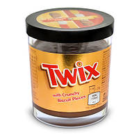 Шоколадная паста Twix 200г + Стакан