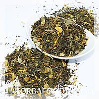 """Чай зеленый и белый """"8 сокровищ Шаолиня"""" 100 грамм, фото 1"""