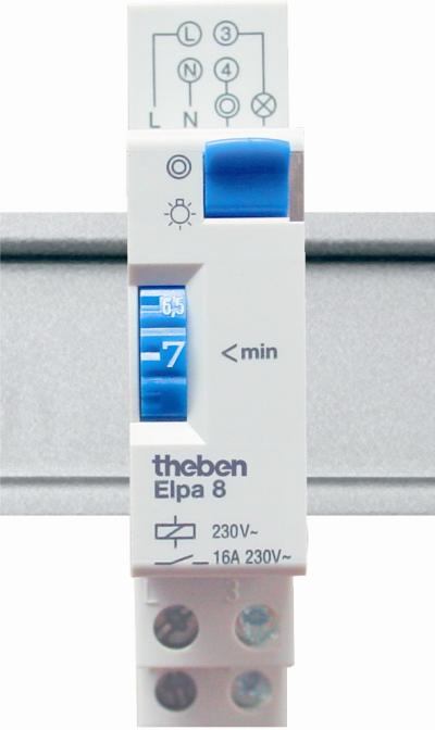 Лестничное реле ELPA 8 электромеханическое, Theben