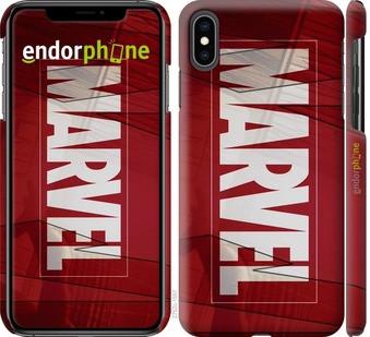 """Чехол на iPhone XS Max Marvel """"2752c-1557-22203"""""""