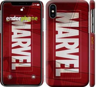 """✅ Чехол на iPhone XS Marvel """"2752c-1583-22203"""""""
