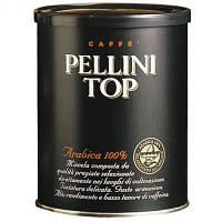 Кофе молотый 100% Арабика Pellini Top, ж/б 250 г., фото 1