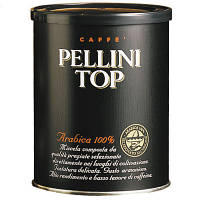 Кофе молотый 100% Арабика Pellini Top, ж/б 250 г.