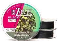 BIZON PE BLACK 100 m / 0.24 mm