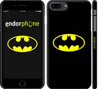 """✅ Чехол на iPhone 8 Plus Бетмен логотип """"3201c-1032-22203"""""""