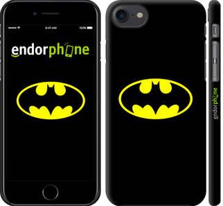 "✅ Чехол на iPhone 7 Бетмен логотип ""3201c-336-22203"""