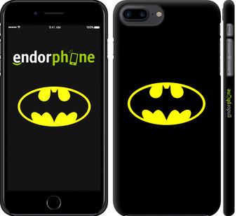 """✅ Чехол на iPhone 7 Plus Бетмен логотип """"3201c-337-22203"""""""