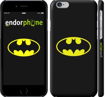 "✅ Чехол на iPhone 6 Бетмен логотип ""3201c-45-22203"""