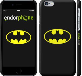 """✅ Чехол на iPhone 6 Бетмен логотип """"3201c-45-22203"""", фото 2"""