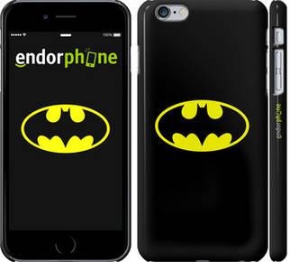 """✅ Чехол на iPhone 6 Plus Бетмен логотип """"3201c-48-22203"""""""