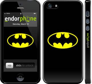 """✅ Чехол на iPhone 5s Бетмен логотип """"3201c-21-22203"""""""