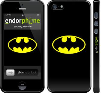 "✅ Чехол на iPhone SE Бетмен логотип ""3201c-214-22203"""