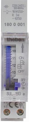 Реле часу SYN 160 a установка часу сегментами, монтаж DIN-рейка, фото 2