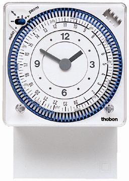 Реле времени SUL 289 g установка времени вставками, монтаж на стену/в панель, Theben