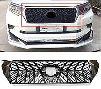 Решетка радиатора Toyota Prado 2018+ г.в стиль TRD