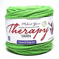 Трикотажная пряжа Therapy T-shirt Yarn L-Size Лайм