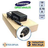 Зарядное устройство для ноутбука 5,5-3,0 mm pin inside 3,16A 19V Samsung оригинал бу
