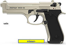 Стартовый пистолет Retay Mod.92 satin, chrome, nickel  (Beretta 92FS)