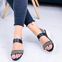 Стильные разноцветные сандалии, фото 1