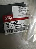 Наклейка передних правых дверей задняя, Kia Rio 2011-14 QBR, 863734y000, фото 2
