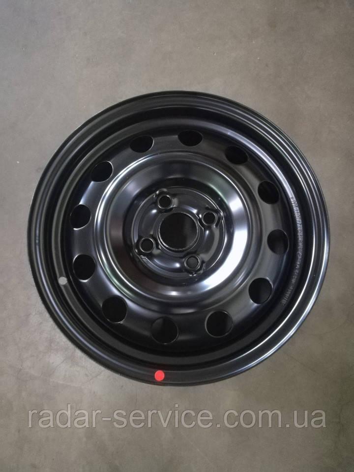 Диск колеса стальной R15x6.0J, Kia Rio 2011-14 QBR, 529104l000