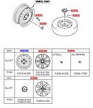 Диск колеса стальной R15x6.0J, Kia Rio 2011-14 QBR, 529104l000, фото 6