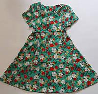 """Дитяче плаття для дівчинки 6-10 років,""""Квіточки"""",кольору при замовленні уточнюйте, фото 1"""