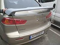 Спойлер багажника Mitsubishi Lancer X 2007+ Мітсубіші Лансер Х ABS пластик