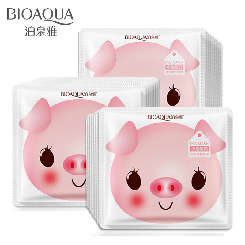 Маска для лица Bioaqua Pig Milk Replenishment Mask (30г)