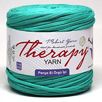 Трикотажная пряжа Therapy T-shirt Yarn L-Size Лагуна