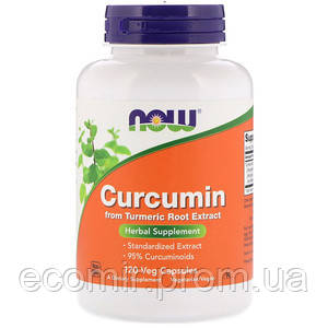 Куркумин, Now Foods (665 мг/ 120 капсул)