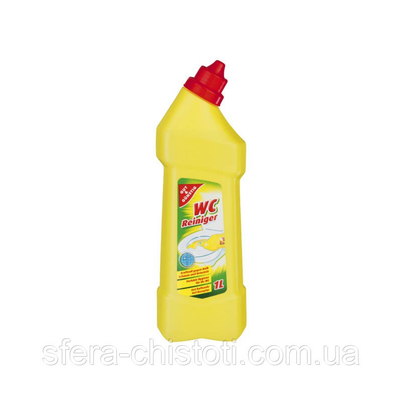 Чистящее средство для туалета G&G WC Лимон  1л