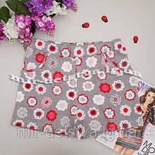 Трикотажні шорти для дівчаток ТМ Lovetti, Туреччина оптом р. 9-12 років (4 шт в ростовці)