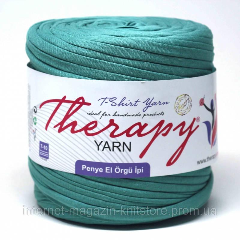 Пряжа трикотажна Therapy T-shirt Yarn L-Size Морська хвиля