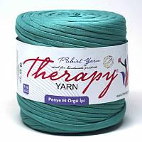 Трикотажная пряжа Therapy T-shirt Yarn L-Size Морская волна