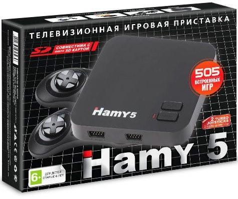 АКЦИЯ!!! Игровая приставка двухсистемная 8-16 бит Hamy 5 (505 встроенных игр) (КАРТИНА В ПОДАРОК)