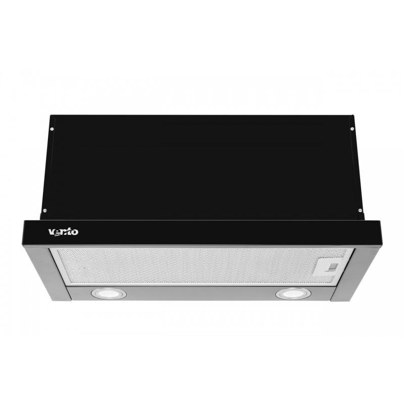 Вытяжка VENTOLUX GARDA 60 BK 1100 SMD LED
