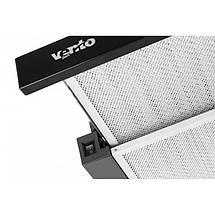 Вытяжка VENTOLUX GARDA 60 BK 1100 SMD LED , фото 2
