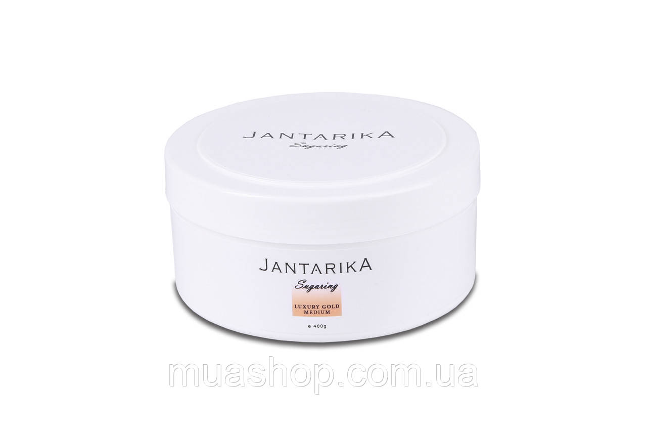 Сахарная паста JANTARIKА LUXURY Gold Medium (Средняя) 400 грамм